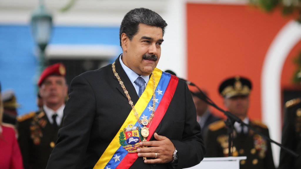Die venezolanischen Regierung ordnet die Blockade aller Häfen an: Als Hintergrund wird vermutet, dass Präsident Nicolas Maduro Hilfslieferungen aus dem Ausland, vorab den USA, verhindern will. (Archivbild)