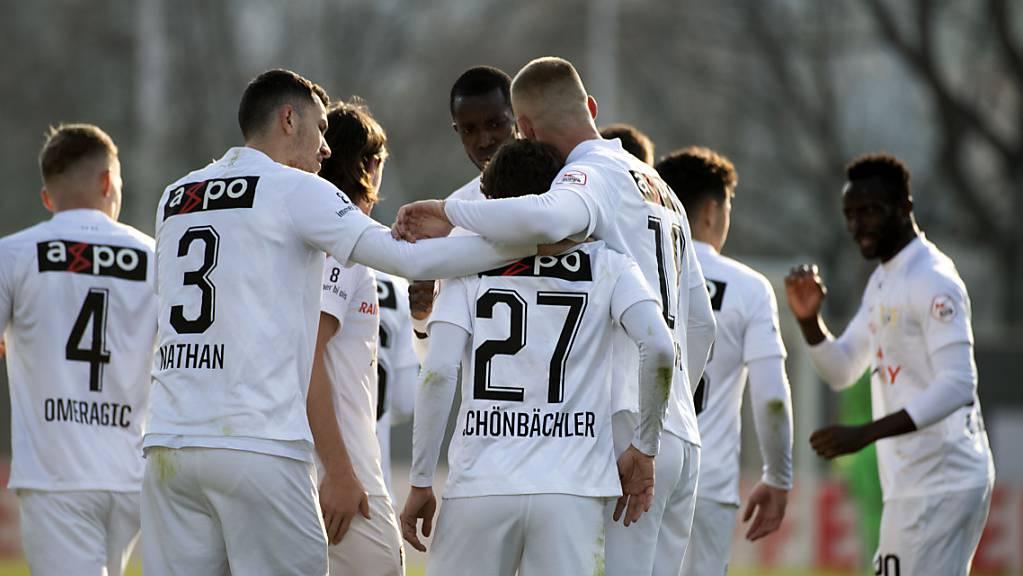 Marco Schönbächler brachte den FC Zürich mit seinem Tor zurück in die Top 4 der Super League.
