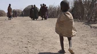Die Not in den Hungergebieten Afrikas wird immer grösser (Archiv)