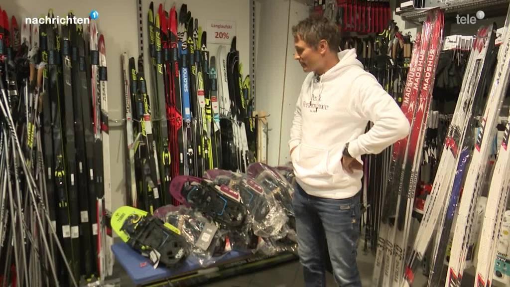 Ski- und Sportgeschäfte vor Corona-Winter