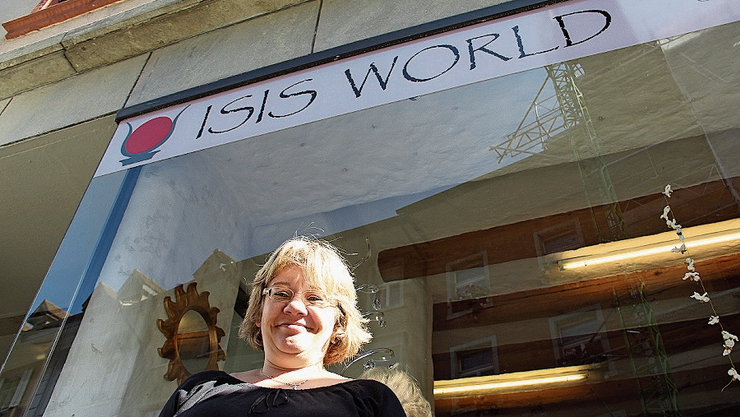 Cornelia Stalder hat ihren Laden Isis World geschlossen.