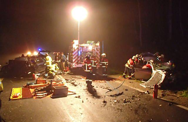 Der Unfallort zwischen Schafisheim und Seon AG