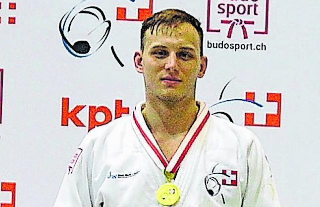 Mit 25 Jahren zum ersten Mal in der Elite Schweizer Meister:  Michael Kistler (–81kg).