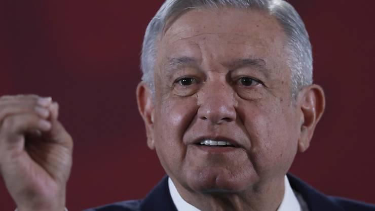 Der mexikanische Präsident Andrés Manuel López Obrador will nicht, dass bewaffnete Ausländer in Mexiko agieren.