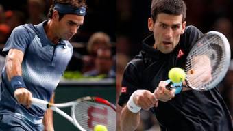 Federer unterliegt Djokovic in drei Sätzen.