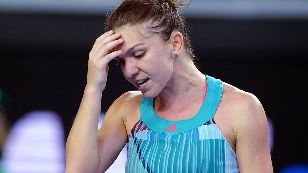 Simona Halep scheiterte beim Australian Open in der 1. Runde