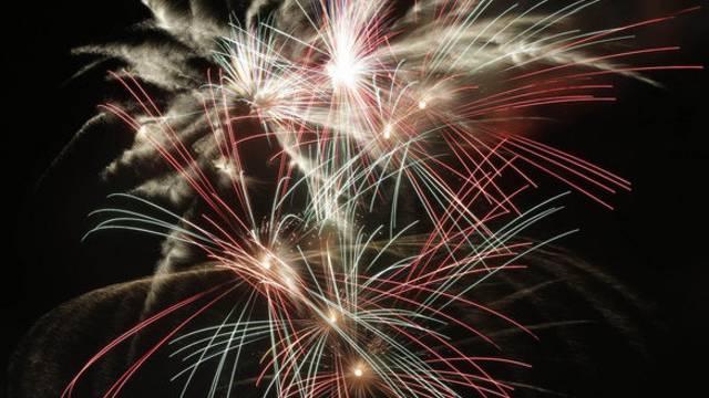 1.-August-Feuerwerk bringt viel Feinstaub in der Luft.Walter Schwager