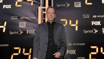 """Kiefer Sutherland, der Hauptdarsteller der Serie """"24"""" (Archiv)"""