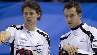 Toni Müller (links) und Jan Hauser finden kein Rezept