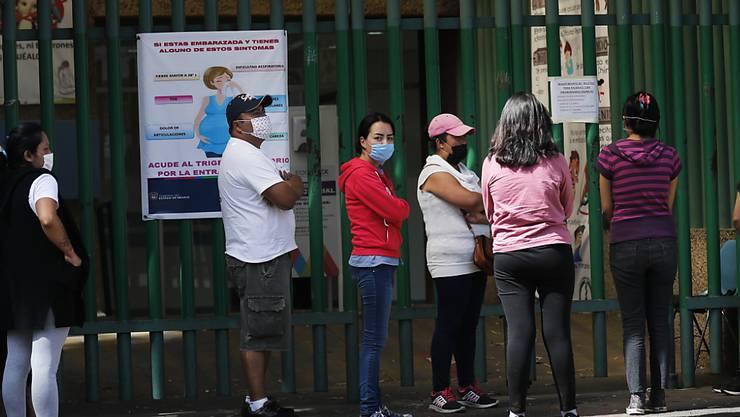 In Mexiko breitet sich die Coronavirus-Krise immer weiter aus. (Archivbild)
