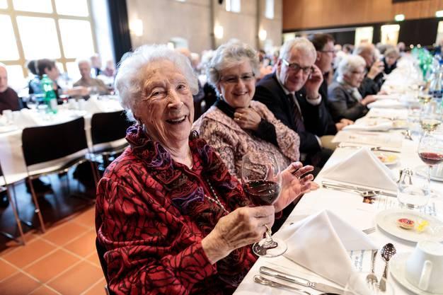 Rosa Pfluger ist mit 103 Jahren die älteste Solothurnerin. Sie wohnt im Alters-und Pflegeheim Ischimatt