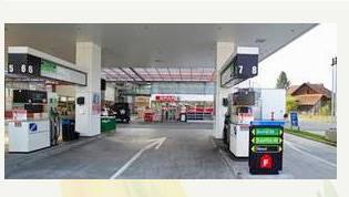SPAR-Tankstelle in Baden-Dättwil an der Mellingerstrasse
