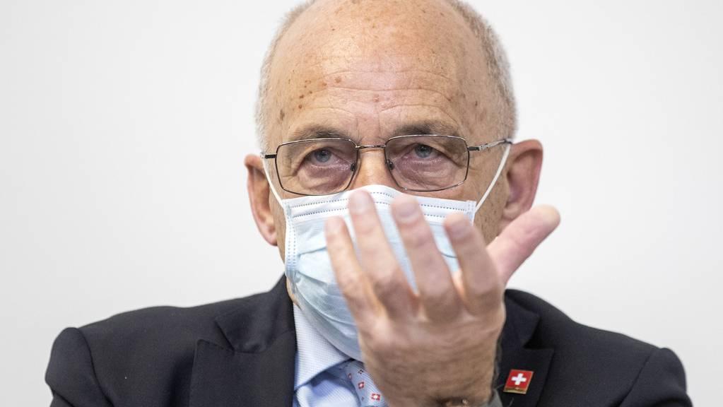 Bundesrat Ueli Maurer informierte am Freitag aus Bern.