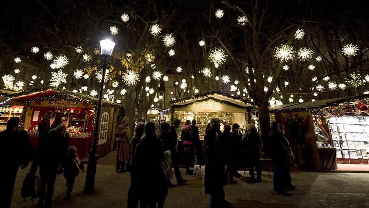 Basler Weihnacht Wird Eingelautet Mit Schlittschuhen Und