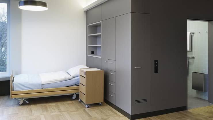 Wohnliches Zuhause für die Bewohner: Das Pflegezentrum Bombach in Zürich Höngg. zvg