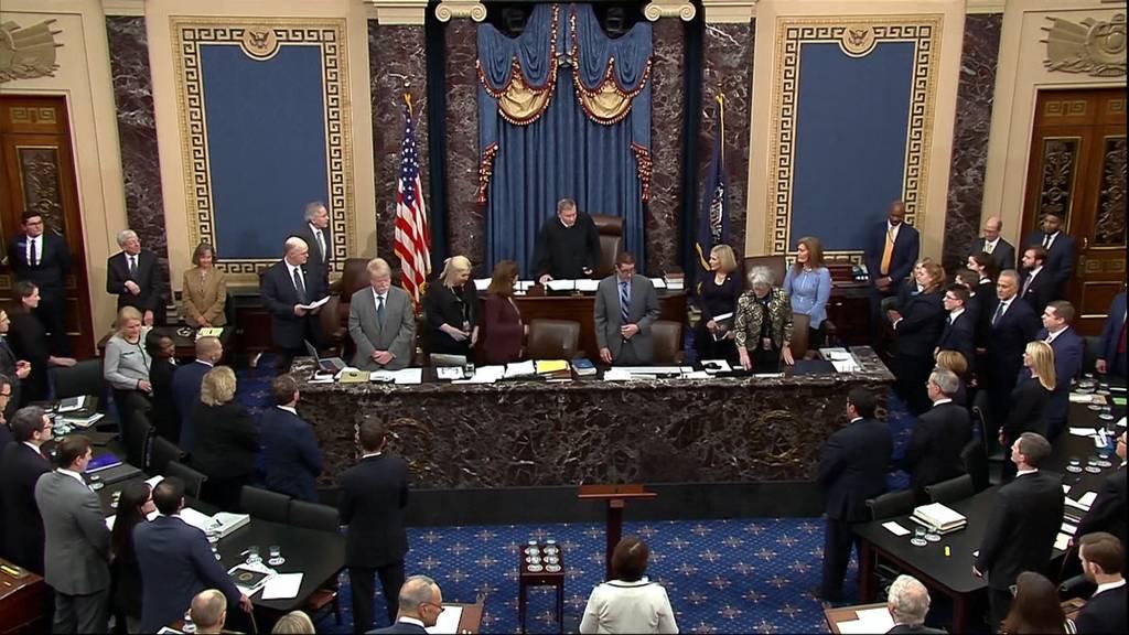 Impeachment-Verfahren: Keine neuen Zeugen zugelassen