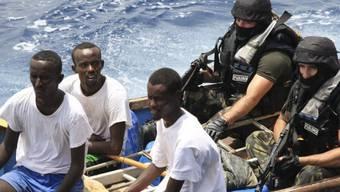 Gefasst Piraten vor der Küste Somalias (Archiv)