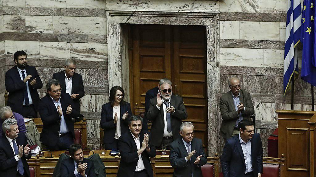 Ob die IWF-Vorschläge bei der griechischen Regierung Applaus ernten? Der Währungsfonds hat sich gegen einen starken Sparkurs für das Land ausgesprochen. (Archivbild)