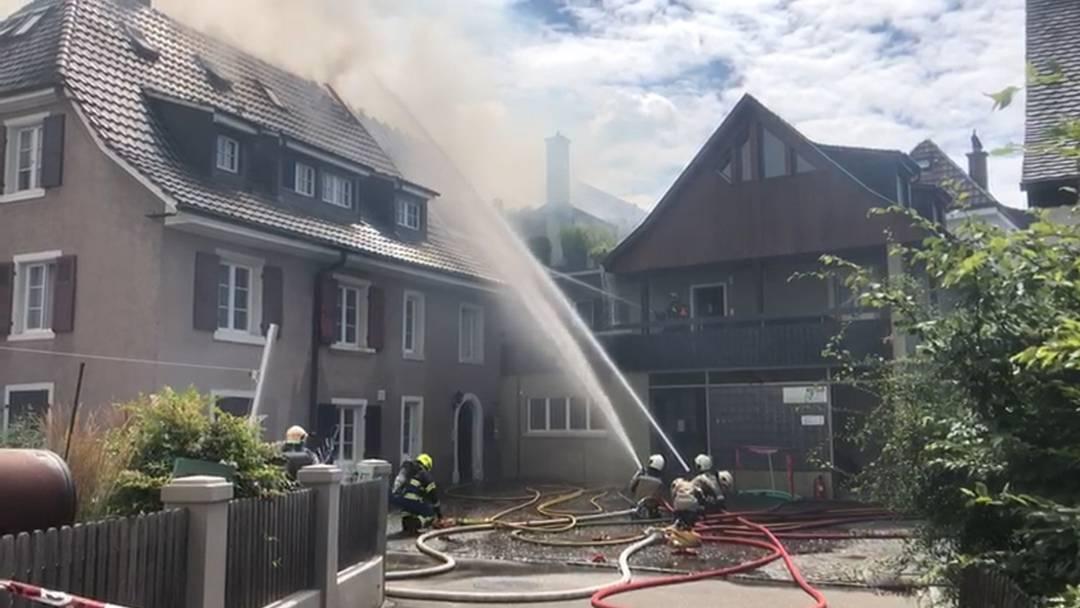 Brand in Kaiseraugst