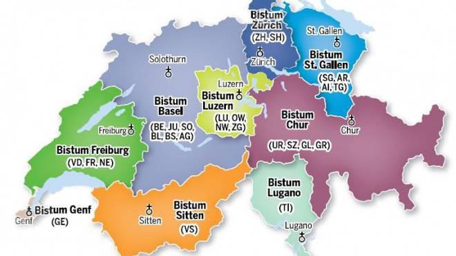 neue Bistumlandschaft