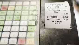 Häufig wird er für den Abfall gedruckt – der Kassenzettel.