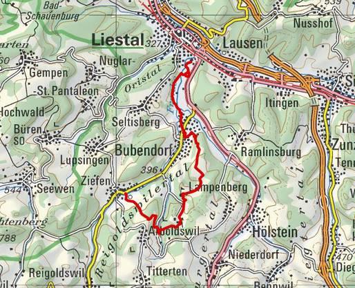 Dienstag, 2. August. Von Ziefen nach Liestal