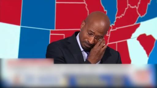 CNN Kommentator bricht nach Bidens Wahlsieg in Tränen aus
