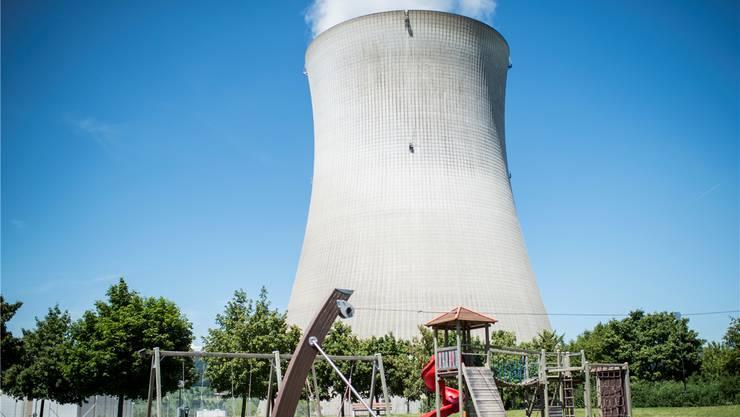 Das Zurzibiet ist mit seinen drei Atomkraftwerke (im Bild Leibstadt) die Energieregion der Schweiz. Keystone