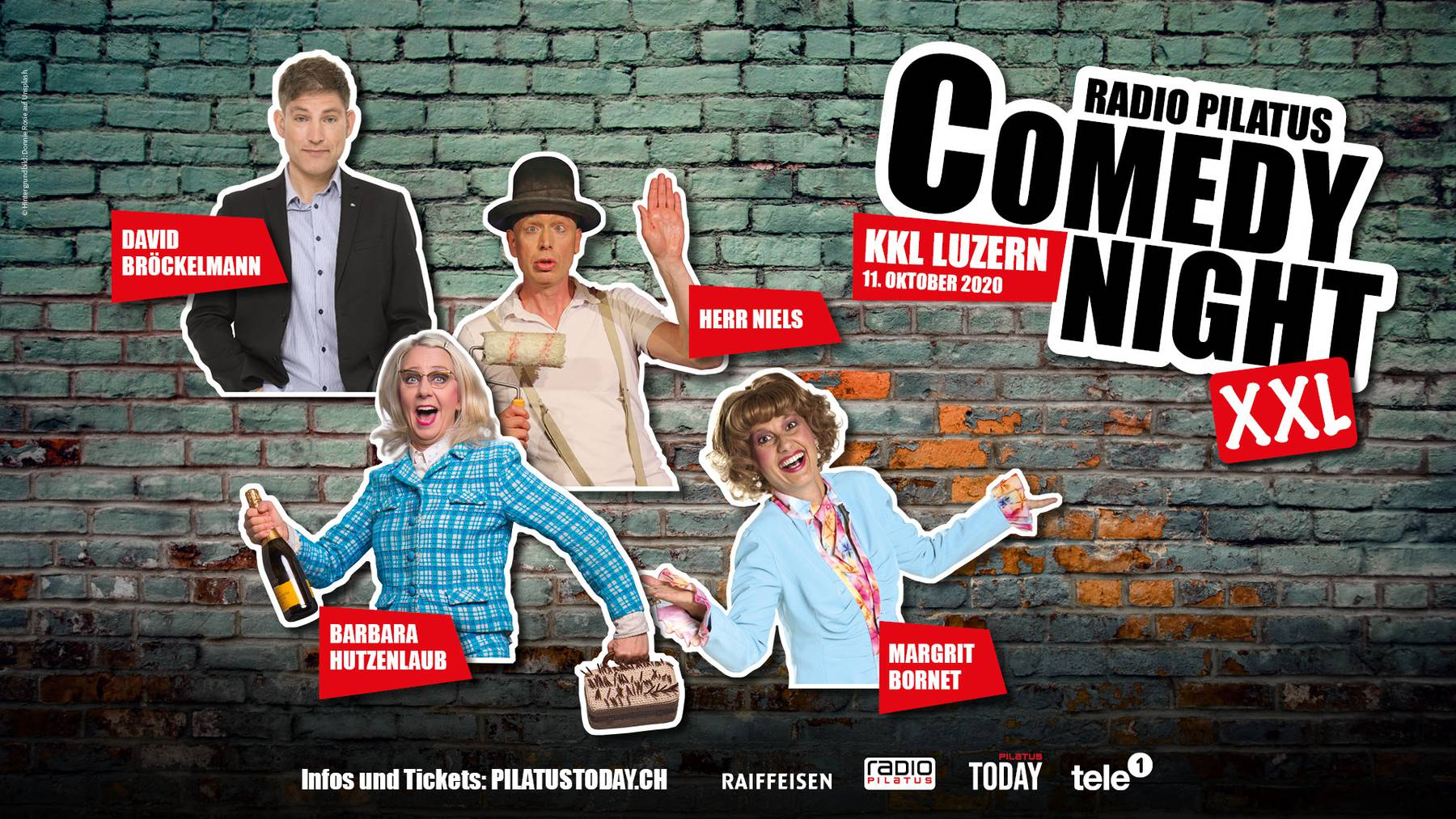 Radio Pilatus Comedy Night XXL im KKL
