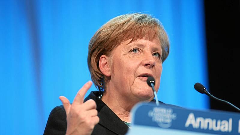 Merkel fordert Welt zum Handeln auf