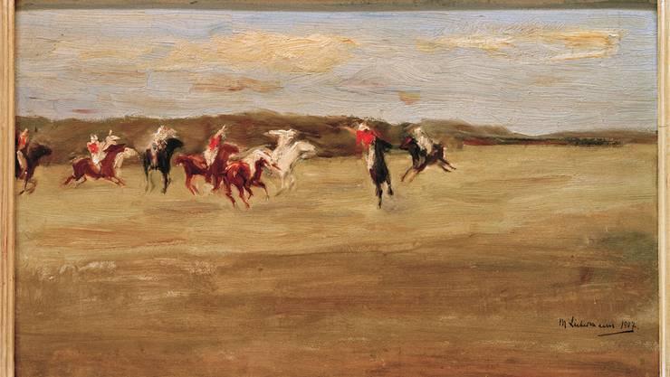 Max Liebermann: «Polospieler» 1907.akg-IMAGES