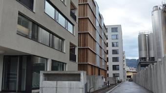 Dank neuer Wohnungen, wie dem Zypressenhof im Limmatfeld, ist die Stadt Dietikon im Jahr 2014 um 850 Einwohner gewachsen.