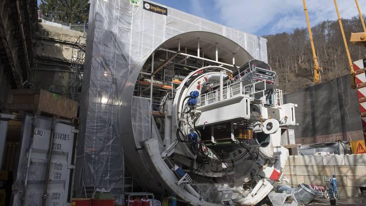 Die SBB realisiert im Auftrag des Bundes bis 2020 einen 4-Meter-Korridor auf der Gotthard-Achse.