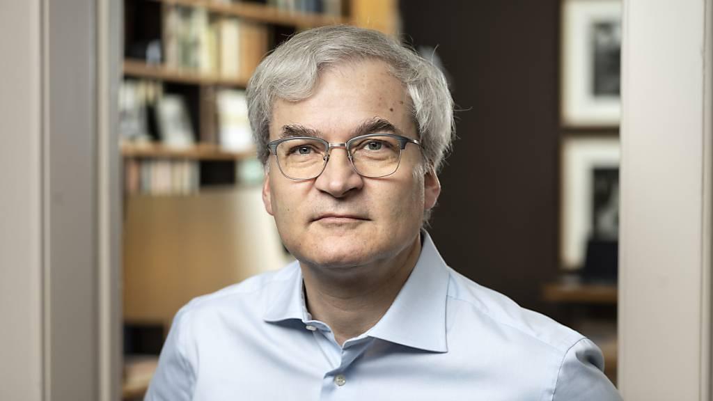 Der neue Chefredaktor und Mitinhaber Markus Somm will den «Nebelspalter» als dritte Kraft rechts der Mitte neben «NZZ» und «Weltwoche» etablieren. (KEYSTONE/Gaetan Bally)
