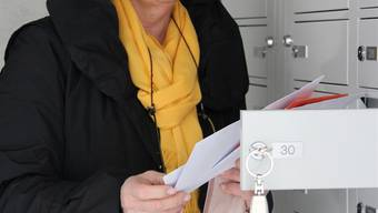 Monique Gächter schätzt ihr Postfach auch am neuen Ort. Aline Wüst
