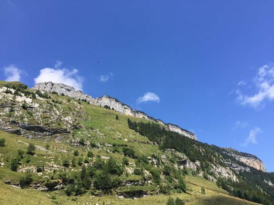 Der Äscher liegt im Alpstein auf Boden des Kantons Appenzell Innerrhoden.
