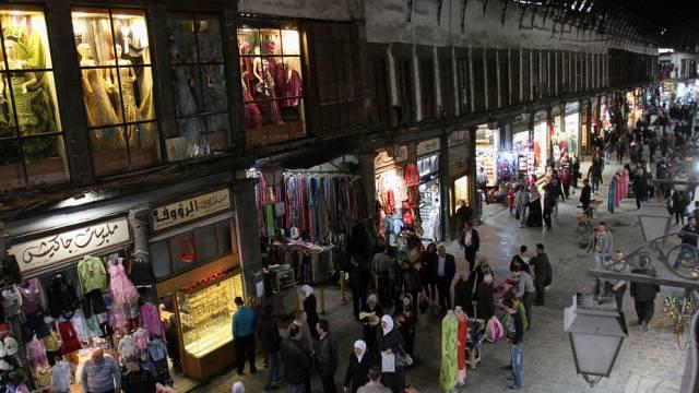 Beliebter Markt in Damaskus (Archiv)