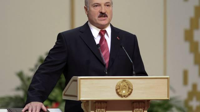 Der weissrussische Präsident Alexander Lukaschenko