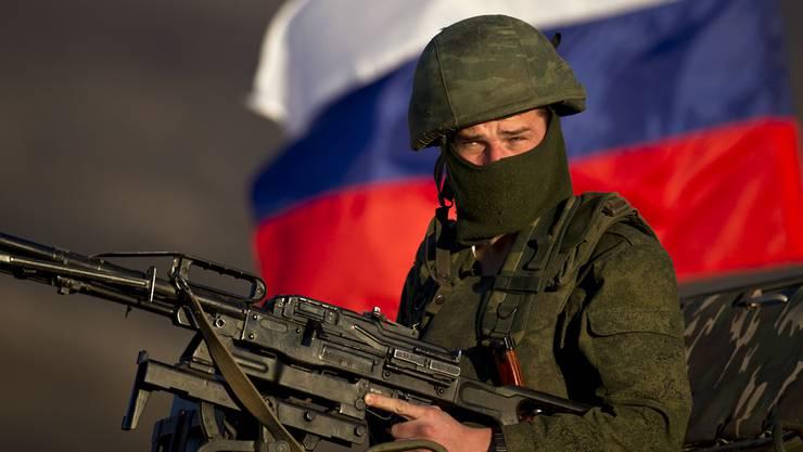 In der Ost-Ukraine geht die Angst vor einem russischen Einmarsch um.
