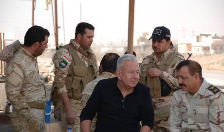 Aus einem muslimischen Mann aus iraq