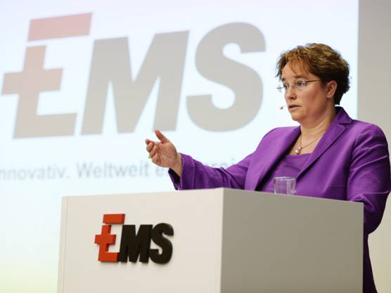 Ems-Konzernchefin Magdalena Martullo-Blocher (Archiv)