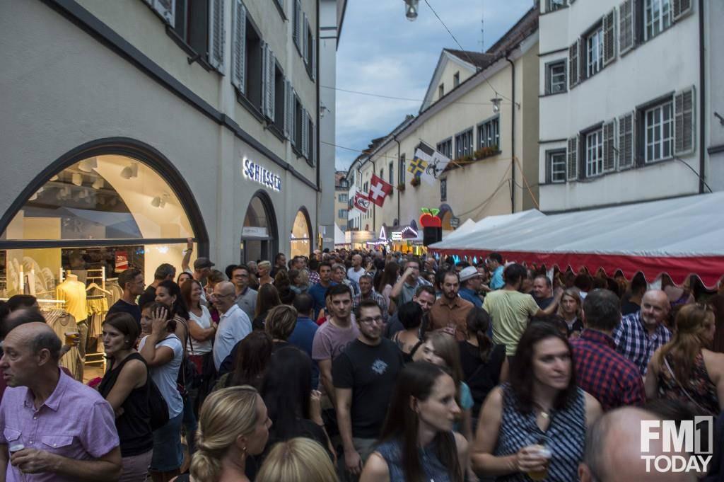 Der Freitag am Churer Fest (© FM1Today/Kevin Suter)