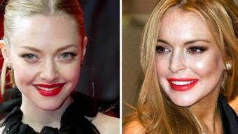 Die brave Amanda Seyfried (l) wurde mit der garstigen Lindsay Lohan verwechselt - nicht gerade ein Kompliment