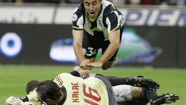 Milan und Juventus im Kampf