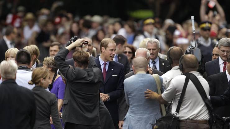 Prinzessin Kate und Prinz William beim offiziellen Empfang in der Rideau Hall in Ottawa