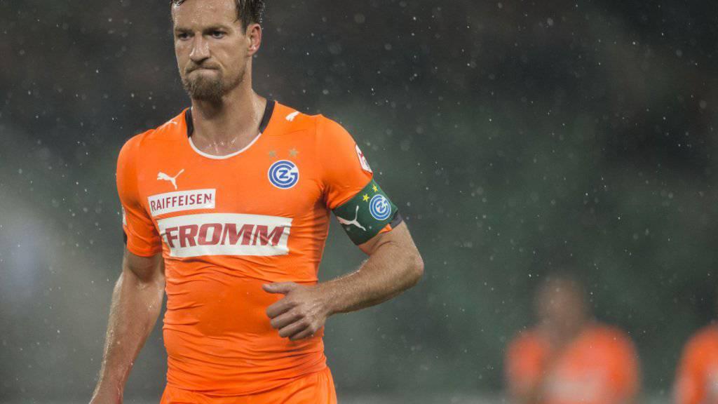 Der ehemalige GC-Spieler Daniel Pavlovic wechselt innerhalb der Serie A zu Crotone. (Archivbild)