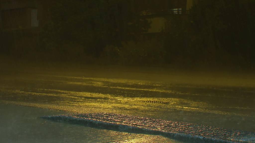 Gewitterzelle: 200 Schadensmeldungen nach Regen im Thurgau