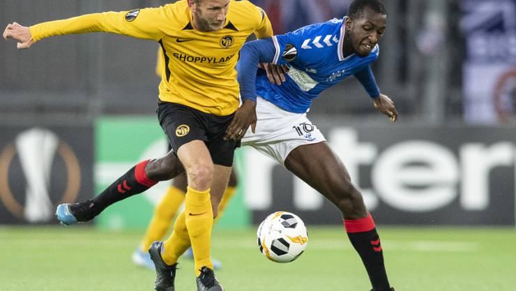 Yb Gewinnt Dank Fassnachts Spatem Treffer Fussball Sport