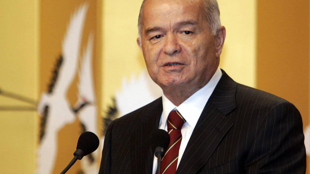 Der usbekische Präsident Islam Karimow befindet sich laut Ärzten in einem «kritischen Zustand».