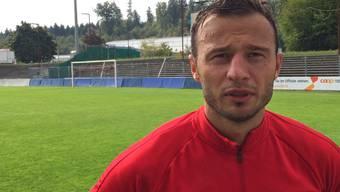 Aaraus Ersatz-Capitain Elsad Zverotić: «Dass Viele nichts mehr von uns erwarten, kann auch ein Pluspunkt sein»